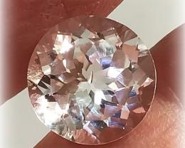 8.20ct Brilliant Silver White Topaz - Sparkling gem VVS NR