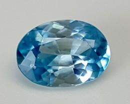 1.90Crt Blue Zircon  Best Grade Gemstones JI18