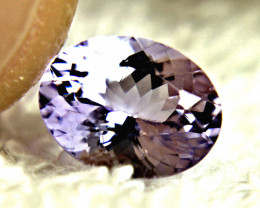 1.95 Carat Light Purple VVS African Tanzanite - Gorgeous