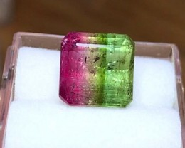 4.15 cts Watermelon Tourmaline - Top Color! Brazilian