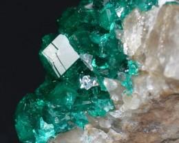 DIOPTASE 13.73 grams - Altyn-Tyube area, Kazakhstan