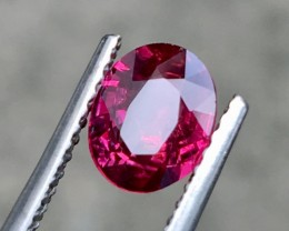 1.028Cts Certified Unheated Elegant Ruby With Top Colour And Luster