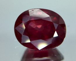 4.45 Crt Rhodolite Garnet Faceted Gemstone (R 12)