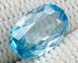 1.95CT NATURAL BLUE ZIRCON BEST QUALITY GEMSTONE IGC500
