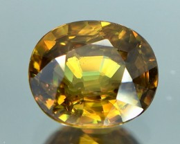 0.95 Crt Sphene Faceted Gemstone (R 12)