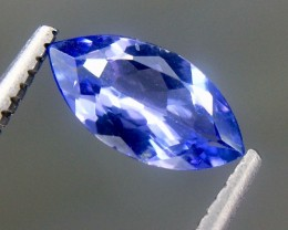 0.77 Crt Natural Tanzanite Faceted Gemstone (AG 42)