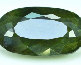 No Reserve - 6.95 cts ct Oval Cut Shape Full Fire Sphene titanite From Skrd