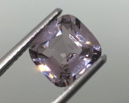 SALE ! 2.00 Carat VVS Spinel Purplish Burmese - Exquisite Quality !