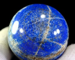 1220 CT Natural lapis  lazuli Carvid Ball Stone Special Shape