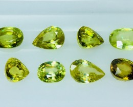 7.15 Crt Sphene Patcels Faceted Gemstone (R 13)