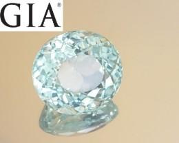 NR - GIA Certified Unheated 10.72 CT  Bluish Green Paraiba Tourmaline $47k