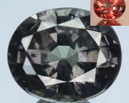 0.88 Cts Natural Color Change Garnet Oval Tanzania Gem