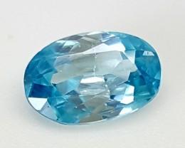 1.70Crt blue zircon Best Grade Gemstones JI20