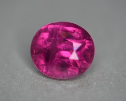 3.31 ct hot pink tourmaline no heat certified.