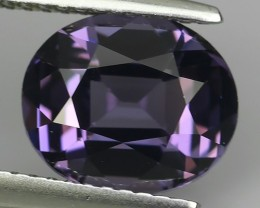 3.03 CTS EXTREMELY NATURAL FIRE RAREST SRILANKAN TOP-VIOLET SPINEL AWESOME