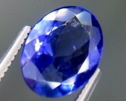 2.08 Crt Natural Tanzanite Faceted Gemstone (AG 44)