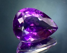 10.65 Cts Amethyst Awesome Color & Luster Gemstone Pv.9