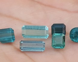 jewelry size 5.60 carats parcel blue  colour Tourmaline Gemstones From Afgh