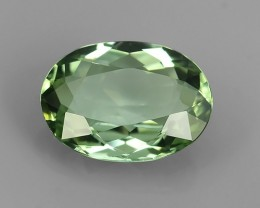 1.80-CTS LUXURY! MINT GREEN TOURMALINE OVAL-CUT  MOZAMBIQ NR!!!