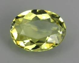 1.60 CTS~AA~TOP FIRE ULTRA RAREST OVAL-CUT MINT YELLOW TOURMALINE NR!!!