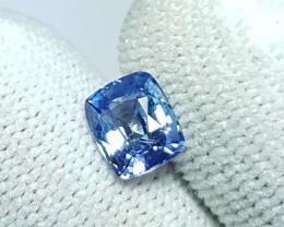 CERTIFIED 1.31 CTS NATURAL BEAUTIFUL PASTEL BLUE SAPPHIRE FROM SRI LANKA