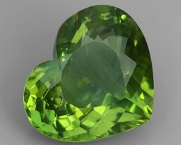 8.90 CTS INVESTMENT GEM - VIP APATITE - NICE GREEN EXCLUSIVE BRAZIL