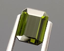 1.30 CRT mint green tourmaline Best Grade Gemstones JI21