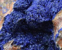 Azurite sur stellerite - 320 grammes - Bou Azzer, Maroc
