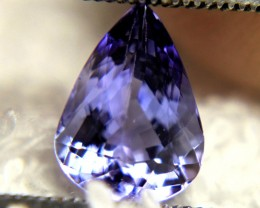 1.73 Carat Vibrant Purple Blue VS1 Tanzanite - Gorgeous