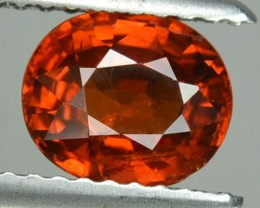 1.69 Cts Natural Mandarin Orange Spessartite Garnet Oval Namibia