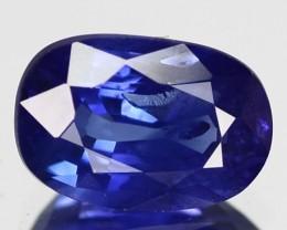 1.50 Cts Natural AAA Blue Sapphire Oval Cut Sri Lanka