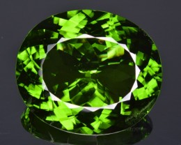Natural Peridot 77.20 Cts Faceted Gem Collector's Grade