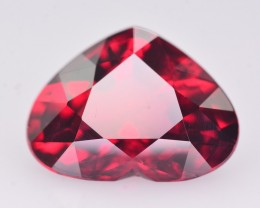 AIGS CERT~Extremely Valuable 4.02 Ct Vivid Red Natural Ruby ~ Mozambique