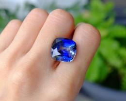 17.52ct Kashmir Sapphire, Bicolor Blue, GIA
