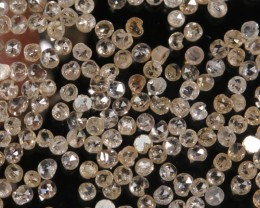 4.0carats 1mm-1.5mm Champagne Diamond Chip Lot