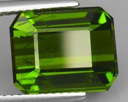 6.62 CTS GENUINE NATURAL TOP EXCELLENT GREEN TOURMALINE GEM!!!