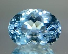 3.95 Crt Aquamarine Top Quality Faceted Gemstone (R 14)