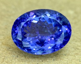 4.65 Crt Natural Tanzanite Top Color D-Block Faceted Gemstone
