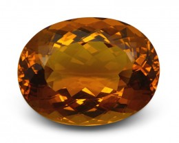 22.15 ct GIA Certified Heliodor