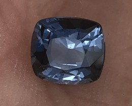 2.17 ct cobalt certified natural spinel.  Color changer.