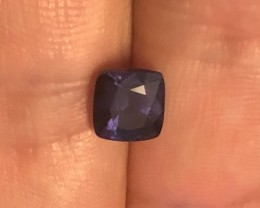 2.03 cobalt certified natural spinel.  Color changer.