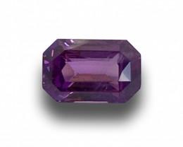 Natural Unheated Purple Sapphire|Loose Gemstone| Sri Lanka - New
