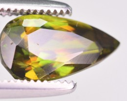Wow Top Luster Green Chrome Sphene From Pakistan