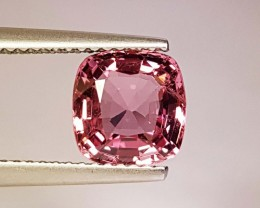 2.21 cts Collective Top Luster Cushion Cut Natural Spinel