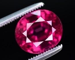 Rarest size 3.75 CT  Ct Marvelous Color Natural Grape Garnet