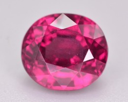 Rarest 3.35 Ct Gorgeous Color Natural Grape Garnet ~ Mozambique