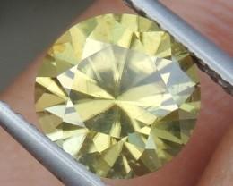 3.11cts, Yellow Zircon,  Precision Cut, Clean