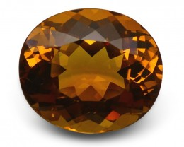 10.05 ct GIA Certified Heliodor
