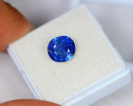3.20ct Blue Sapphire Oval Cut Lot V2127