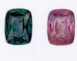 1.03 ct GIA Certified Color Change Alexandrite